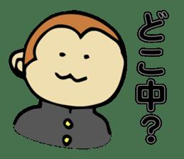 Dialect Sticker TOCHIGI with Monkey sticker #1304810