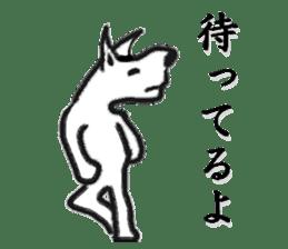 Brush cat sticker #1305690