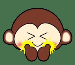 A lovely monkey sticker #1306299