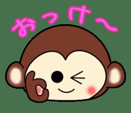 A lovely monkey sticker #1306300