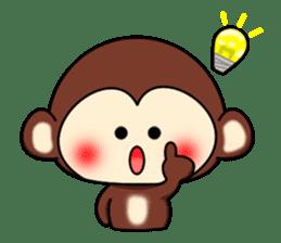 A lovely monkey sticker #1306312