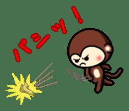 A lovely monkey sticker #1306313