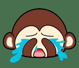 A lovely monkey sticker #1306323