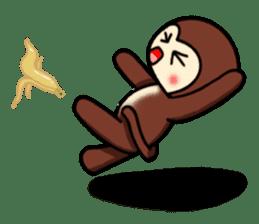 A lovely monkey sticker #1306328
