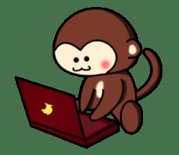 A lovely monkey sticker #1306332