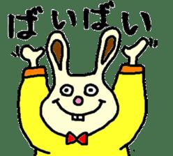 Rabbit's Lappy! sticker #1306543
