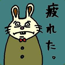 Rabbit's Lappy! sticker #1306546