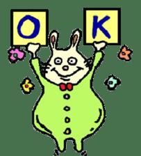 Rabbit's Lappy! sticker #1306547