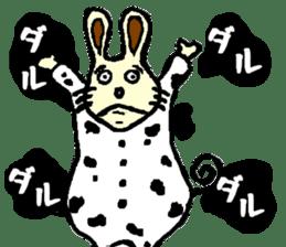 Rabbit's Lappy! sticker #1306553
