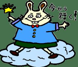 Rabbit's Lappy! sticker #1306558