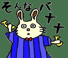 Rabbit's Lappy! sticker #1306560