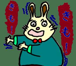 Rabbit's Lappy! sticker #1306563