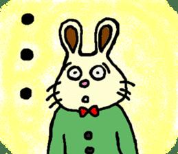 Rabbit's Lappy! sticker #1306565