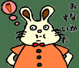 Rabbit's Lappy! sticker #1306566