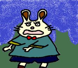 Rabbit's Lappy! sticker #1306570