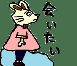 Rabbit's Lappy! sticker #1306571