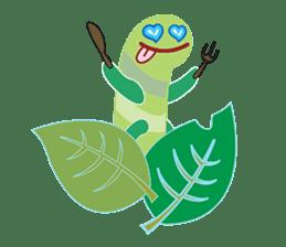 Funny Caterpillar & Friends sticker #1307258