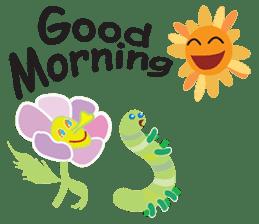 Funny Caterpillar & Friends sticker #1307262
