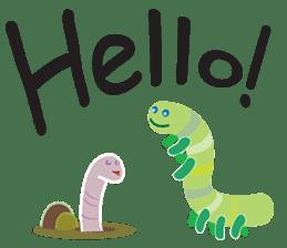 Funny Caterpillar & Friends sticker #1307265