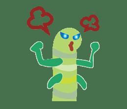 Funny Caterpillar & Friends sticker #1307273
