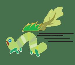 Funny Caterpillar & Friends sticker #1307284