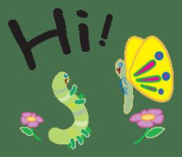 Funny Caterpillar & Friends sticker #1307286