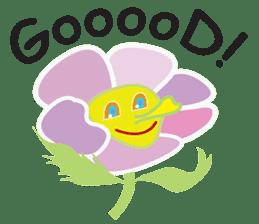 Funny Caterpillar & Friends sticker #1307290