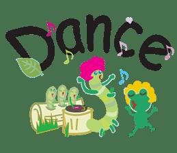 Funny Caterpillar & Friends sticker #1307293