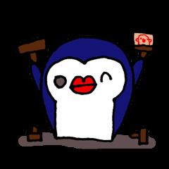 lips penguin