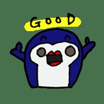 lips penguin sticker #1308104