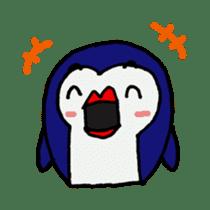 lips penguin sticker #1308106