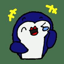 lips penguin sticker #1308107