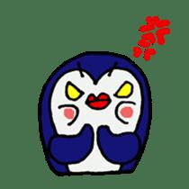 lips penguin sticker #1308112
