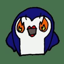 lips penguin sticker #1308113
