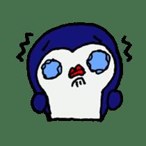 lips penguin sticker #1308114
