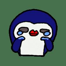 lips penguin sticker #1308115