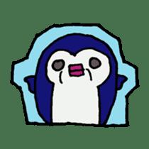 lips penguin sticker #1308119