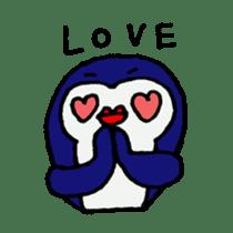 lips penguin sticker #1308133