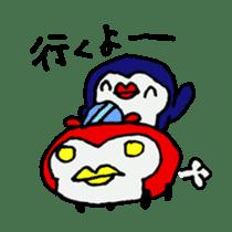 lips penguin sticker #1308135