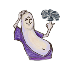 Eggplant-ish Big enchilada sticker #1309079