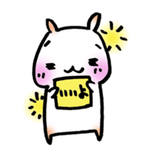 Mochi Ham sticker #1309139