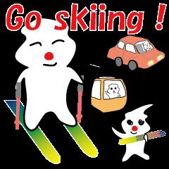 POKKUN go skiing for ski resort in Eng