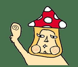 mushroom guy sticker #1311583
