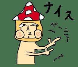 mushroom guy sticker #1311585