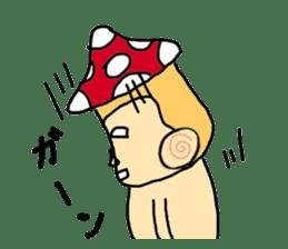 mushroom guy sticker #1311589