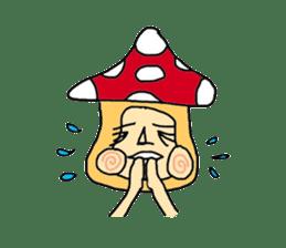 mushroom guy sticker #1311594
