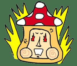 mushroom guy sticker #1311597