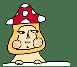 mushroom guy sticker #1311609
