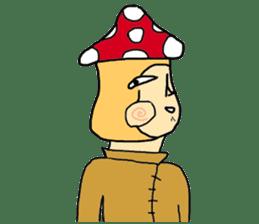 mushroom guy sticker #1311612