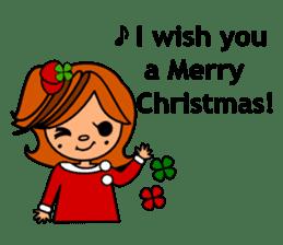 ichigo*clover Happy Winter sticker #1312298